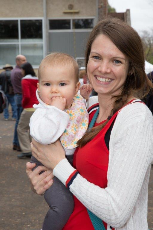 You are never too young to attend the street party
